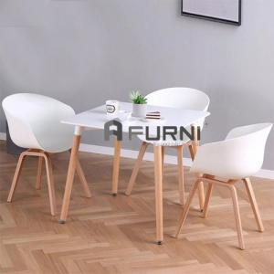Bộ bàn ăn 3 ghế căn hộ mini BA DAW HAY 08 kiểu dáng giản dị (1 bàn – 3 ghế)