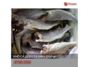 Khô cá lù đù Cà Mau 1000 gr