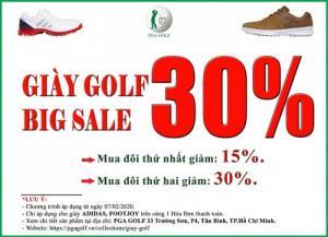 Giày Golf Big Sale 30% FootJoy, Adidas chính hãng