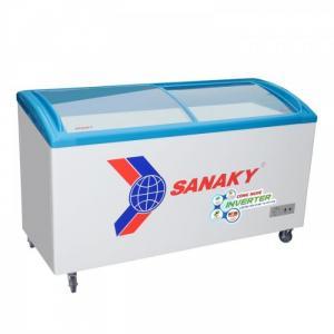 TỦ ĐÔNG TRƯNG BÀY KEM SANAKY INVERTER 450 LÍT VH-6899K3 DÀN ĐỒNG