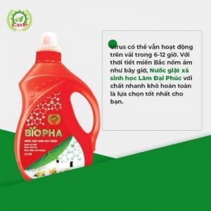 Nước giặt xả Sinh học biopha