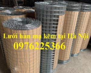 Chuyên sản xuất lưới thép hàn mạ kẽm 2ly, 3ly, 4ly, 5ly 6ly
