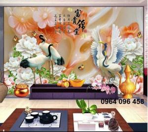 gạch tranh trang trí ốp tường 3d