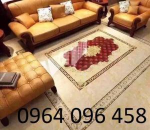 gạch thảm 3d phòng khách