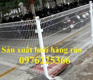 Hàng rào mạ kẽm, hàng rào gập đầu