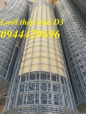 Lưới thép hàn D3 a 50x50  khổ 1.2m