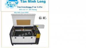 Máy laser 6040 cắt khắc mica làm nhãn tủ điện công nghiệp tại Hồ Chí Minh