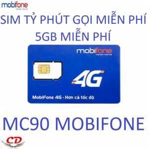 Sim 4g mobifone gọi miễn phí dưới 10 phút 5gb tốc độ cao