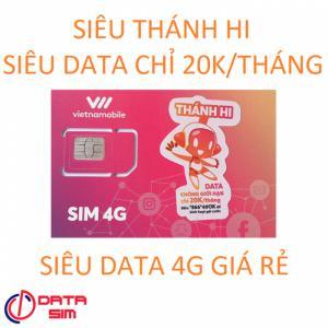 Sim 4g miễn phí data duy trì 20k có sẵn tháng đầu thánh hi