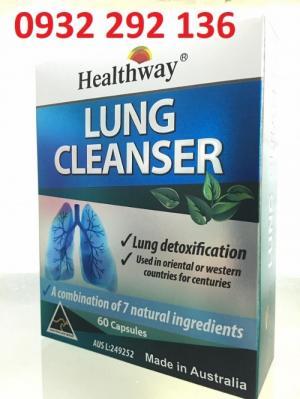 Lung Cleanser Healthway - bổ phổi, tăng cường thải độc phổi