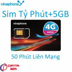 Sim vinaphone 1000phút 5GB tốc độ cao