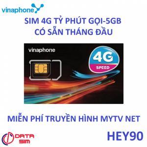 Sim 4G vinaphone có sẵn tháng đầu gọi vina miễn phí 5GB tốc độ cao