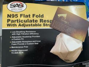 Khẩu trang N95 phòng chống bụi mịn ngừa Crona  - Suong's House xách tay Mỹ