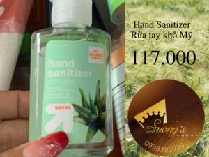 Hand Sanitizer Nước rửa tay khô sát trùng diệt khuẩn  Mỹ