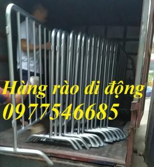 Sản xuất hàng rào di động , hàng rào ngăn kho , hàng rào chắn