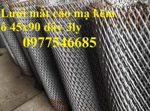 Lưới kéo giãn, lưới hình thoi, lưới quả trám, lưới hình thoi làm trang trí