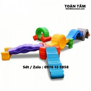 Bộ vận động thể chất 12 chi tiết - Vận động 12 chi tiết - đồ chơi vận động mầm non