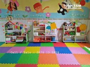 Thảm xốp lót sàn Kích thước 1mx1m - thảm lót sàn