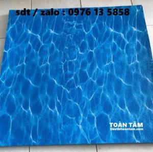 Thảm xốp lót sàn Kích thước 1mx1m Xanh Biển