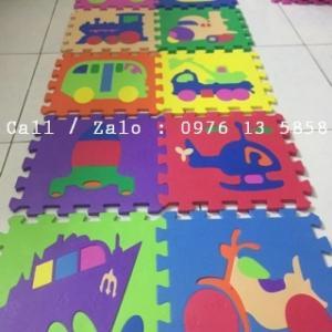 Thảm xốp lót sàn Kích thước 30 x60 - thảm lót sàn cho bé mầm non