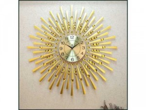 Đồng hồ trang trí hình quạt xếp DHS428