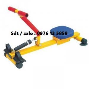 Dụng cụ chèo thuyền Rowing Machine - đồ chơi thể dục mầm non
