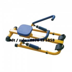 Dụng cụ chèo thuyền tập bụng Double Row Implement - thiết bị mầm non