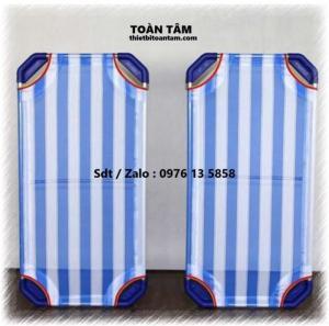 Giường Lưới Mầm Non Xanh Dương - giường mầm non giá rẻ