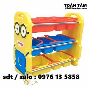 Kệ Đồ Chơi Minion Cho Bé - Kệ đồ chơi cho bé