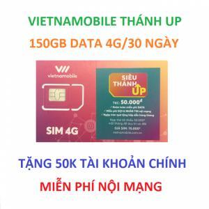 sim vietnamobile thánh up 150gb data nội mạng miễn phí