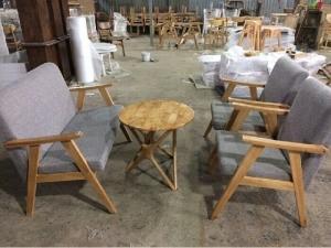 bàn ghế dùng cho các công trình