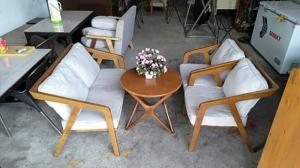 Sofa dùng cho quán cafe giá tại xưỡng sản xuất