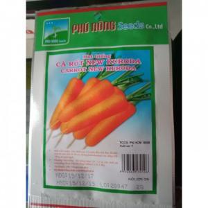 Hạt giống cà rốt Kuroda Phú Nông