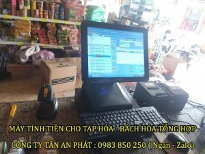 Máy tính tiền cho cửa hàng tại Tây Nguyên