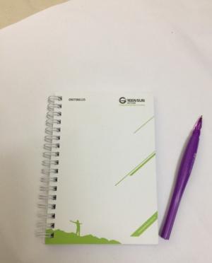 In ấn sổ tay nhân viên, sổ lò xo giá rẻ