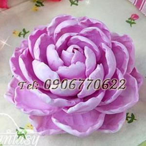 Khuôn silicon hoa mẫu đơn nữ hoàng – Mã số 238