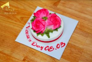 Bánh kem Hoa hồng - bánh kem 8/3 Quà Tặng 8/3 Suong's House