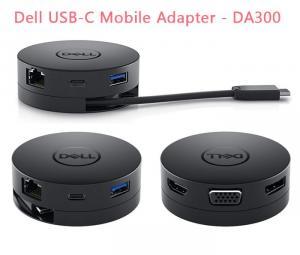 Bán Docking Dell DA300 / thiết bị chuyển đổi từ USB-C ra nhiều cổng