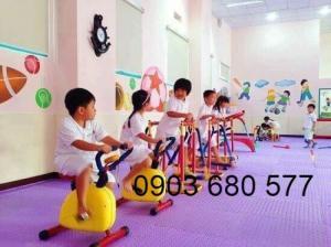 Cung cấp dụng cụ thể thao, vận động dành cho trẻ em mầm non
