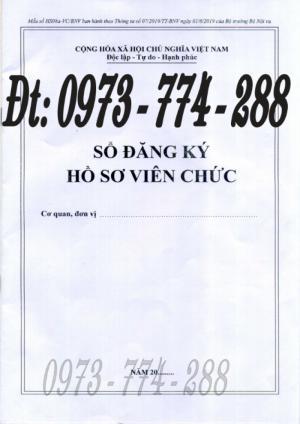 Sổ đăng ký hồ sơ viên chức