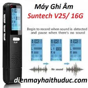 Máy ghi âm Suntech V25 bộ nhớ 16G hàng chính hãng giá rẻ
