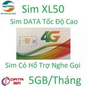Sim 4G viettel 5GB tốc độ cao