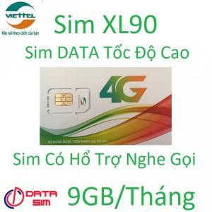 Sim 4G viettel 9GB tốc độ cao có hổ trợ nghe gọi