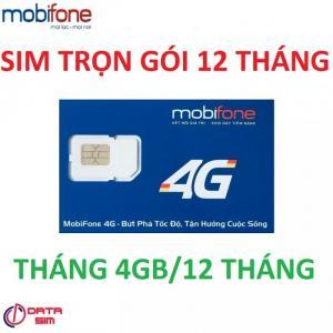 Sim 4g mobifone trọn gói 12 tháng không cần nạp tiền