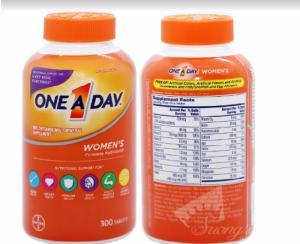 Vitamin Tổng Hợp Cho Nữ One A Day Women's Formula -Hàng Mỹ xách tay -Suong House