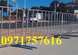 Hàng rào chắn di động - khung hàng rào di động