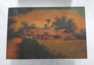 Tranh sơn mài xưa cũ kích thước 40x60cm
