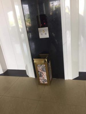 Thùng rác khách sạn đá hoa cương - Dụng cụ nhà hàng khách sạn Thiên An