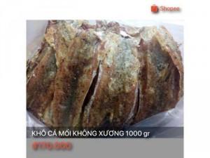 Khô cá mối không xương 1000 gr