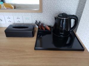 Cung cấp khay trà, cà phê nhiều ngăn khách sạn - Bộ Amenities khách sạn Thiên An